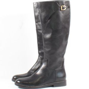 Cole Haan Knee High Tall Heel Boots Leather